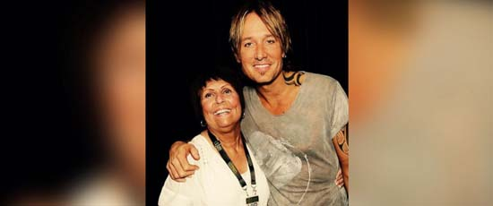 <div class='meta'><div class='origin-logo' data-origin='none'></div><span class='caption-text' data-credit='Jonathan Mate'>Betty Mate, 69, of Rochester, New York had the chance to meet Keith Urban at the concert</span></div>