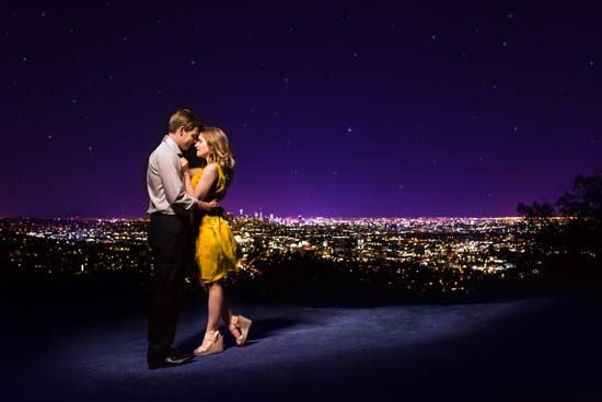 <div class='meta'><div class='origin-logo' data-origin='none'></div><span class='caption-text' data-credit='M. Hart Photography'>'La La Land' engagement photos are as romantic as the movie</span></div>