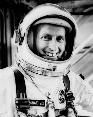 <div class='meta'><div class='origin-logo' data-origin='KTRK'></div><span class='caption-text' data-credit=''>Charles &#34;Pete&#34; Conrad, Jr. was an American naval officer and aviator, aeronautical engineer, and NASA astronaut, during the Apollo 12 mission became the third man to walk.</span></div>