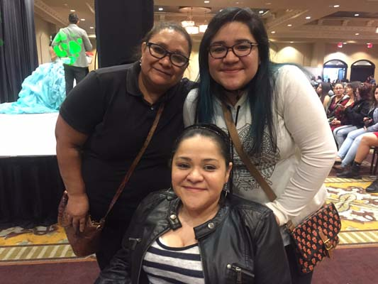 """<div class=""""meta image-caption""""><div class=""""origin-logo origin-image ktrk""""><span>KTRK</span></div><span class=""""caption-text"""">13-year-old Isabella Mojica won a Quince party package giveaway. She is seen here with her  mother and grandma.</span></div>"""