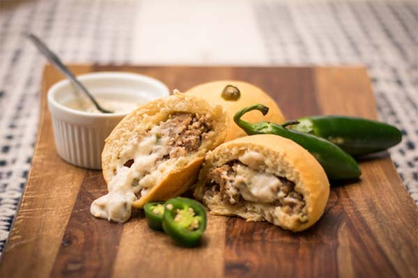 "<div class=""meta image-caption""><div class=""origin-logo origin-image ktrk""><span>KTRK</span></div><span class=""caption-text"">Houston's favorite kolache chain has teamed up with Lee's Fried Chicken & Donuts to create a limited-time kolache creation -- the ""Sausage and Jalapeño Gravy"" kolache.</span></div>"