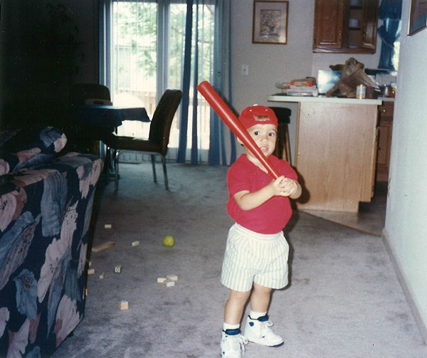 The Astros outfielder has had a love for baseball from a very early age <span class=meta>KTRK Photo/ Courtesy: George Springer Jr.</span>