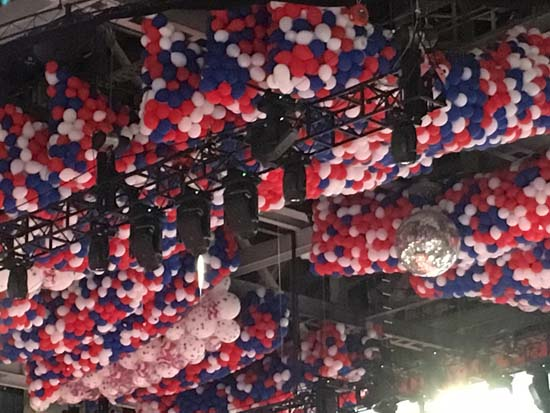<div class='meta'><div class='origin-logo' data-origin='KTRK'></div><span class='caption-text' data-credit=''>Decorations inside Quicken Loans Arena are festive and patriotic</span></div>