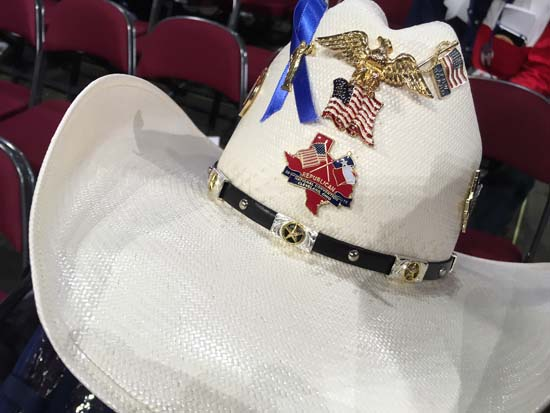 <div class='meta'><div class='origin-logo' data-origin='KTRK'></div><span class='caption-text' data-credit=''>Buttons, pins, elephant jewelry and bedazzled cowboy hats are some of the fashion items on display</span></div>