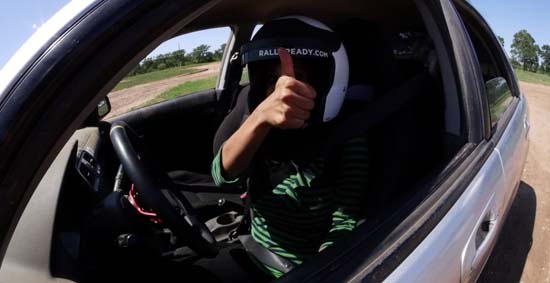 <div class='meta'><div class='origin-logo' data-origin='KTRK'></div><span class='caption-text' data-credit=''>Steve Campion and Pooja Lodhia go rally racing in Dale, TX</span></div>