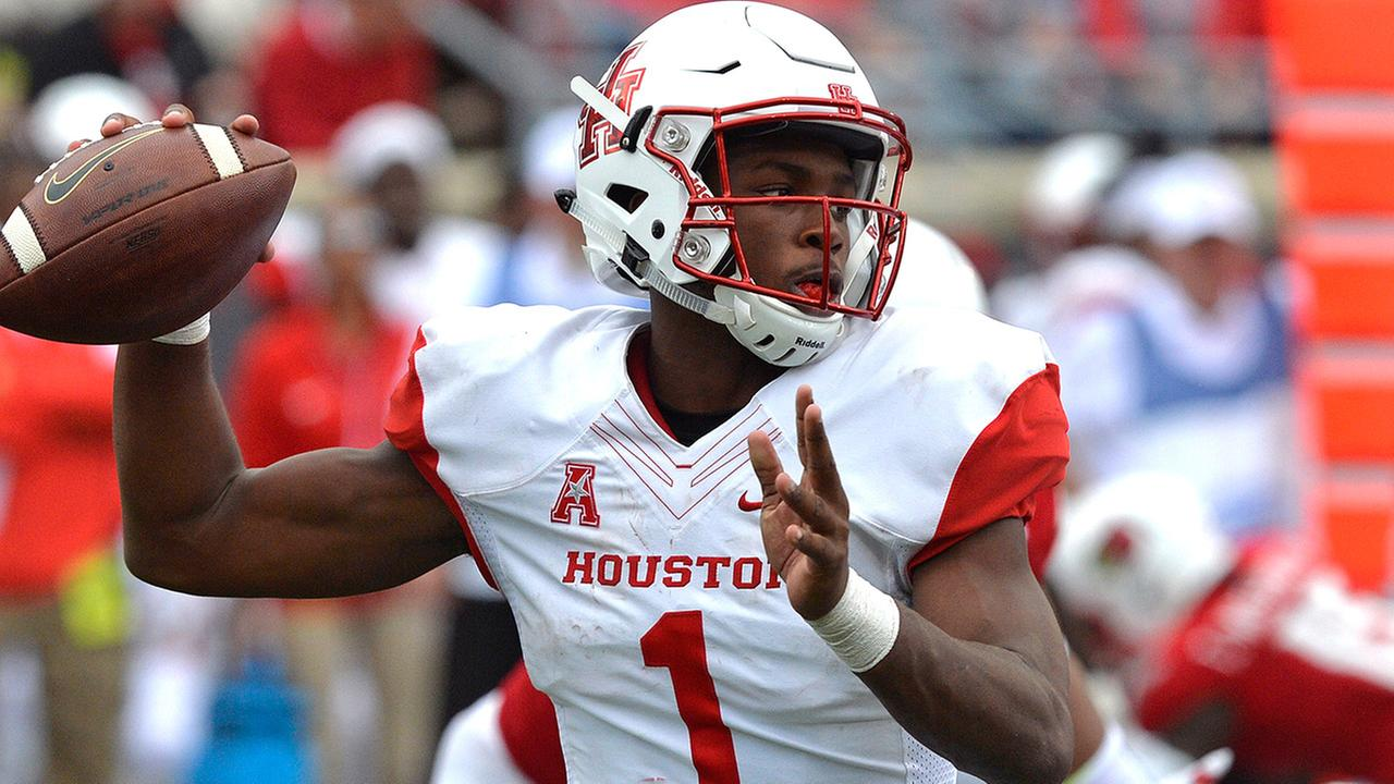 QB Greg Ward Jr.s play is a big reason the University of Houston is in the top 25.