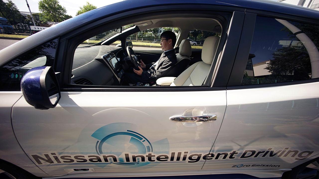 Japan self driving cars