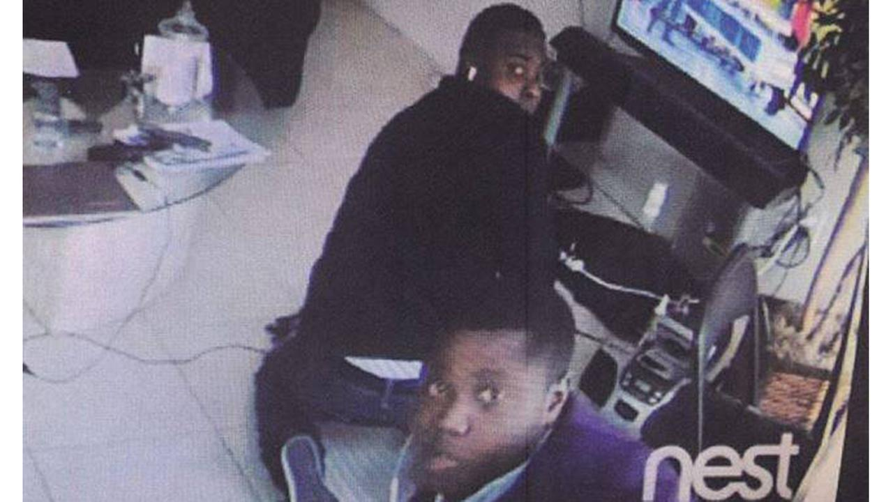 Ft. Bend Co. homeowner watches on cell phone as home is burglarized