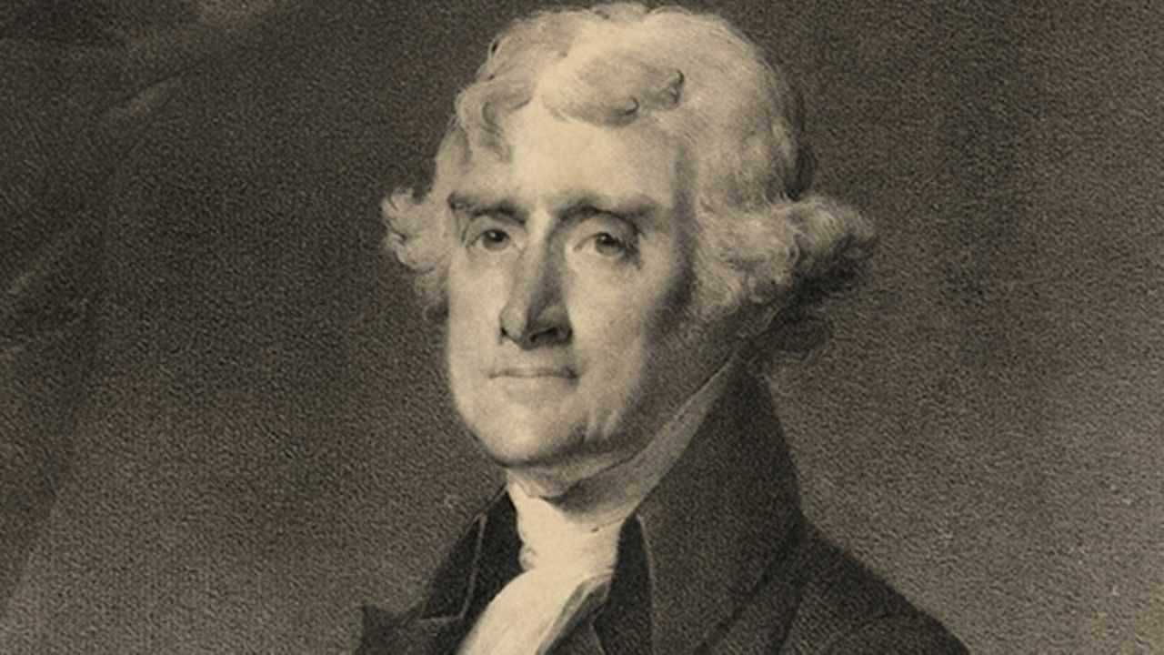 Thomas Jefferson married his third cousin and later had an affair with a slave.Shutterstock