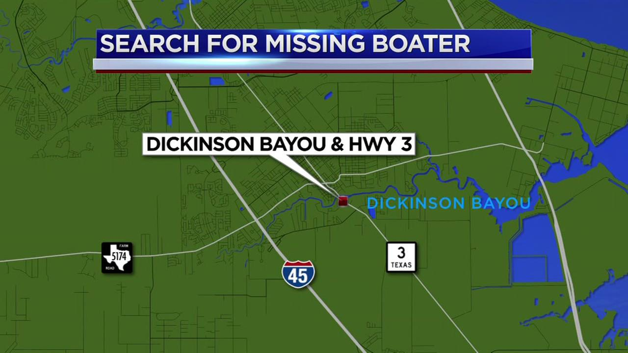 Body of missing fisherman found after overturned kayak in Dickinson Bayou