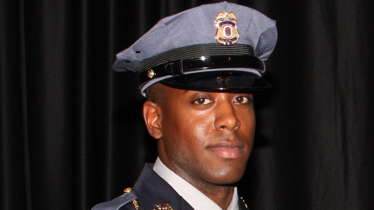 This undated photo provided by the Prince Georges County Police Department shows officer Jacai Colson, a 4-year veteran of the Maryland countys police force.