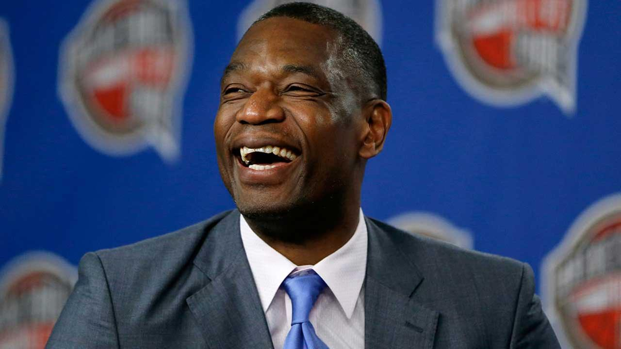 Former Rocket Dikembe Mutombo in Brussels airport during attack