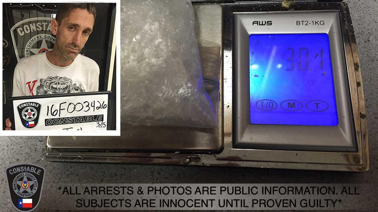 Montgomery Co. traffic stop leads to meth arrest