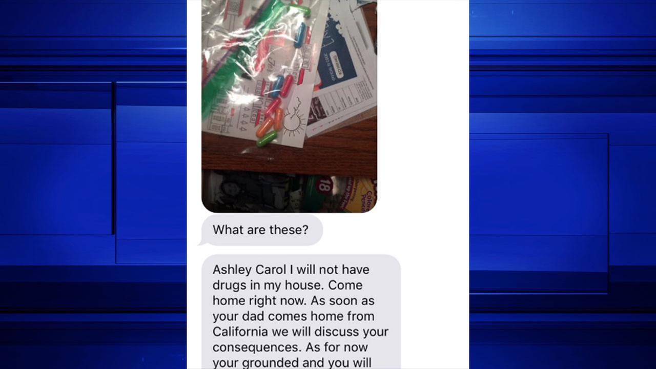 Daughter has hilarious response after mom thinks she found drugs