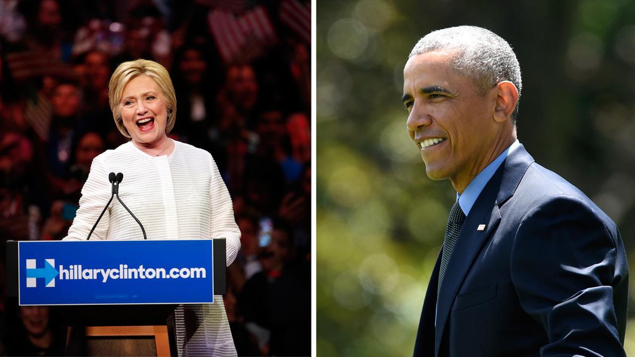 President Obama endorses Hillary Clinton