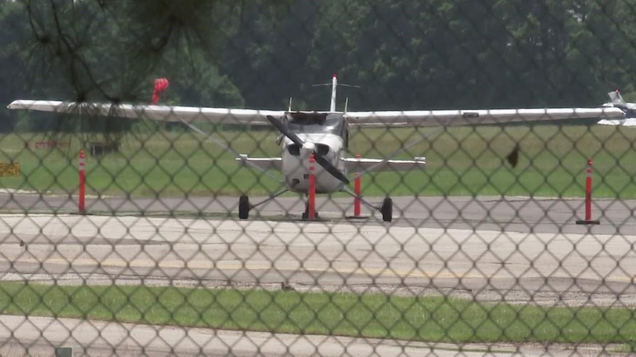 Plane makes emergency landing at Hooks Airport after bird crashes through windshield