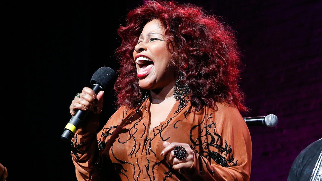In this Oct. 24, 2014, file photo, Chaka Khan performs at the 13th annual A Great Night in Harlem gala concert in New York.