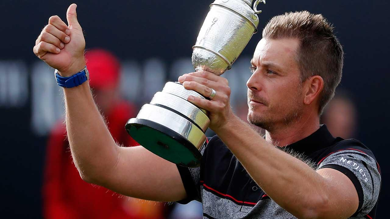 Sweden's Stenson wins British Open over Mickelson with record score