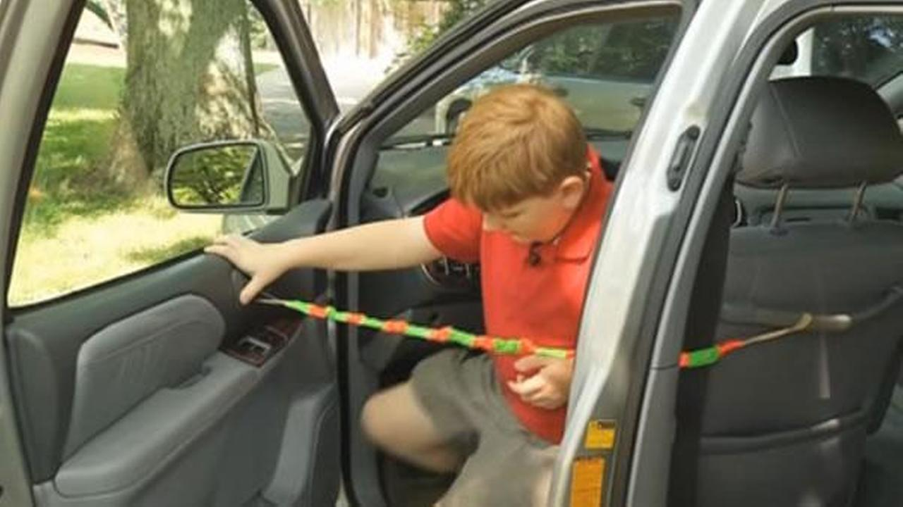 An 11-year-old boy in Tennessee invented a device that could help prevent parents from accidentally leaving babies inside hot cars