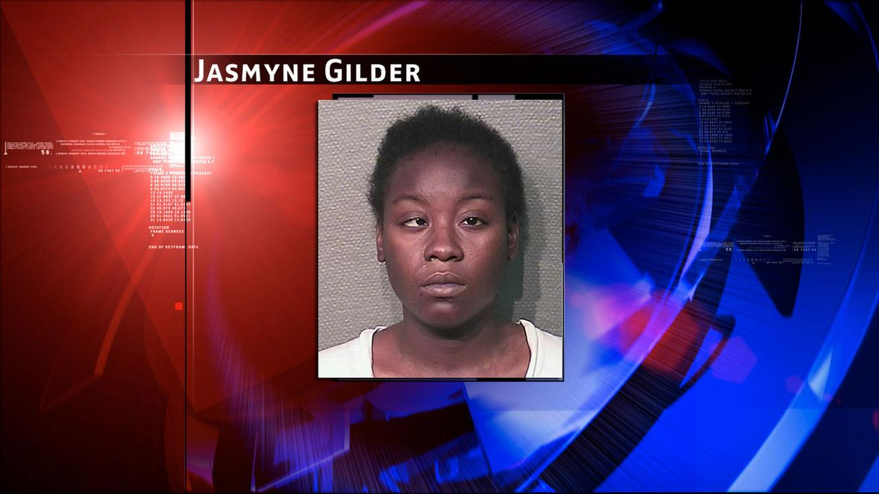 Jasmyne Gilder, 21, is charged with attempted indecency with a child.