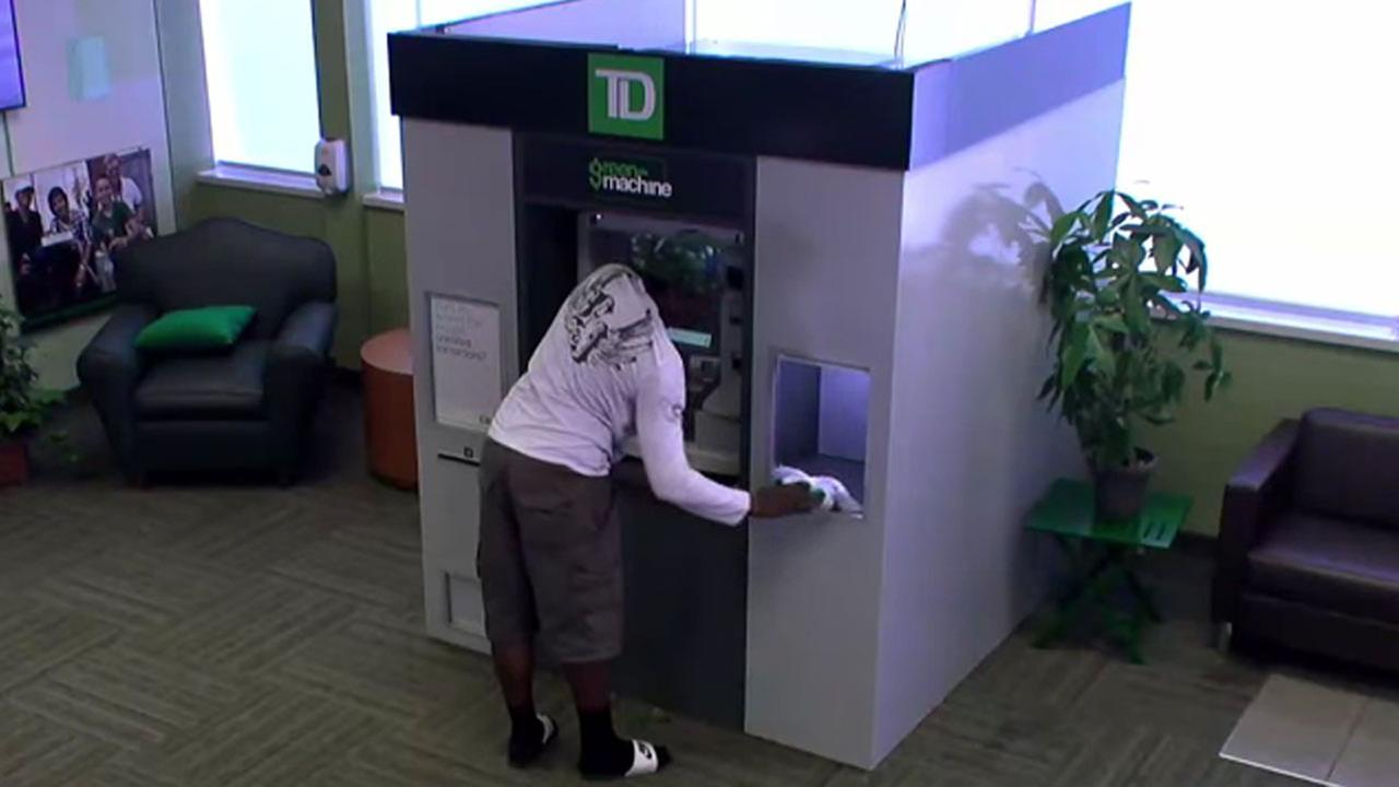 Canadian ATM gives away trips, flowers and more