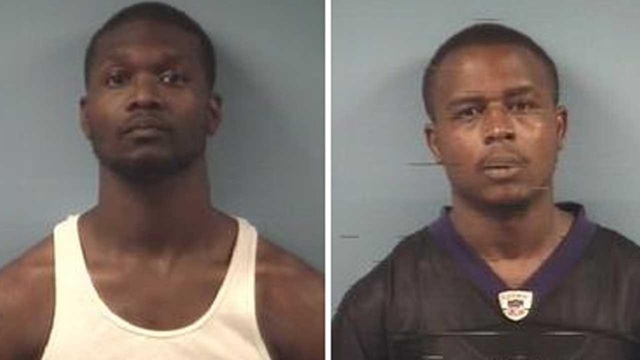 Emmanuel Bernard Harris and Ray Patterson, Jr., were taken into custody after police say they stole a womans purse at a Friendswood H-E-B