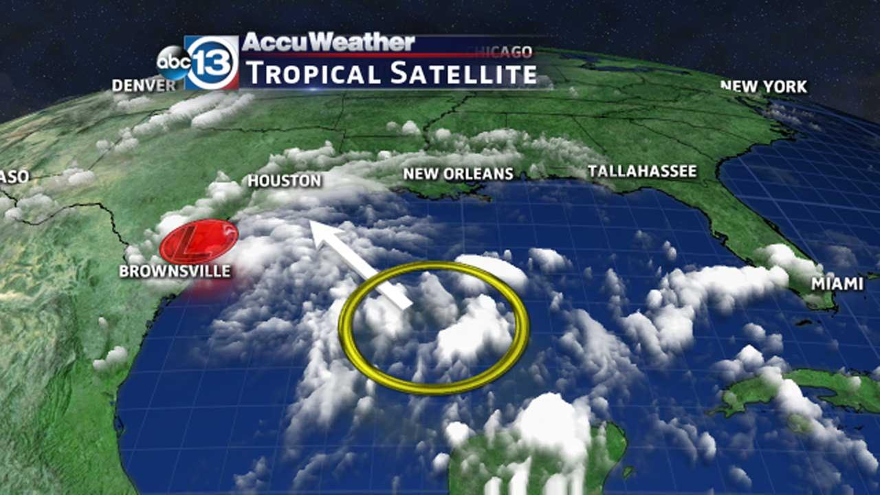 Gulf disturbance expected to bring heavy rains to southeast Texas