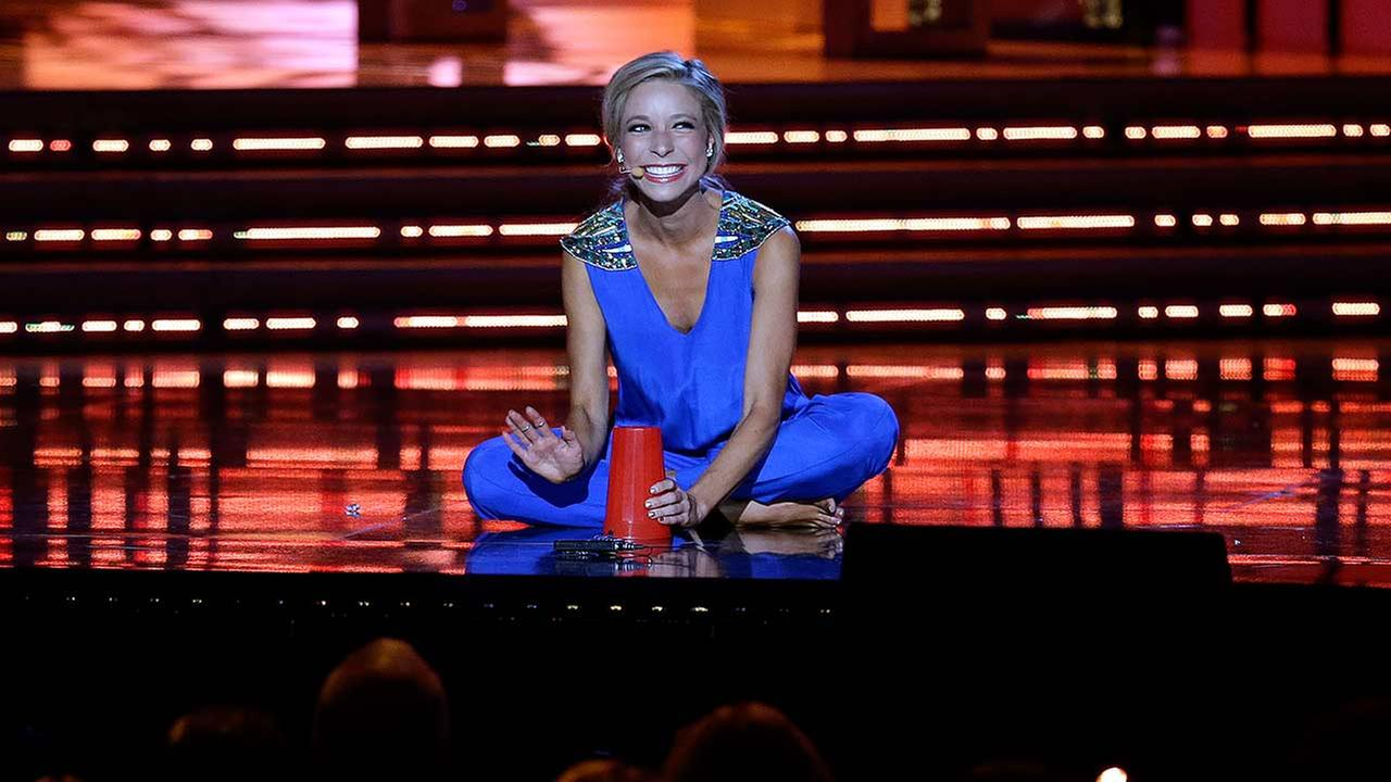 Miss New York Kira Kazantsev performs during the talent portion of the Miss America 2015 pageant, Sunday, Sept. 14, 2014, in Atlantic City, N.J.