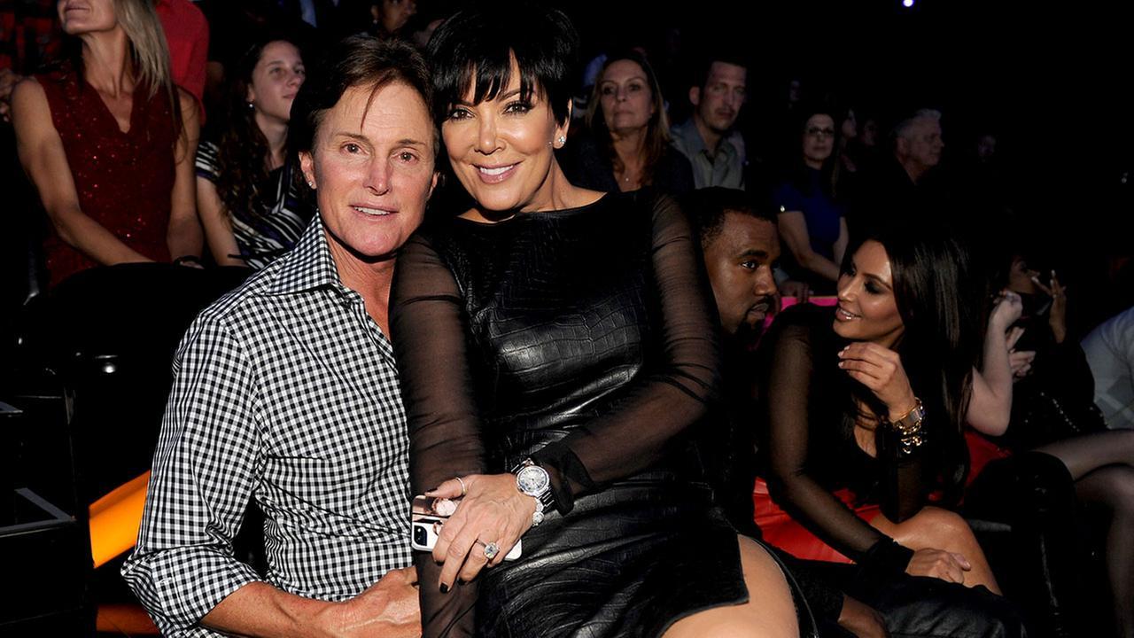 Bruce Jenner and Kris Jenner