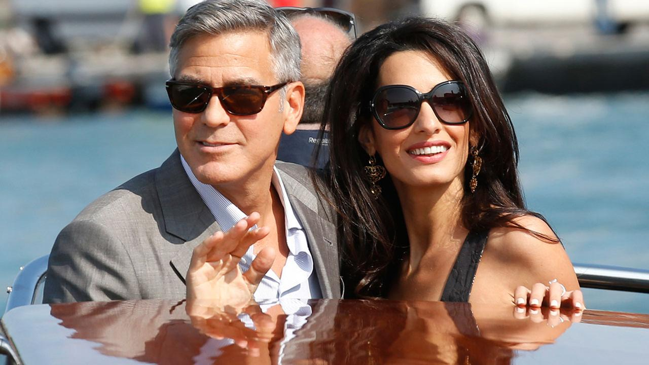 George Clooney, and Amal Alamuddin