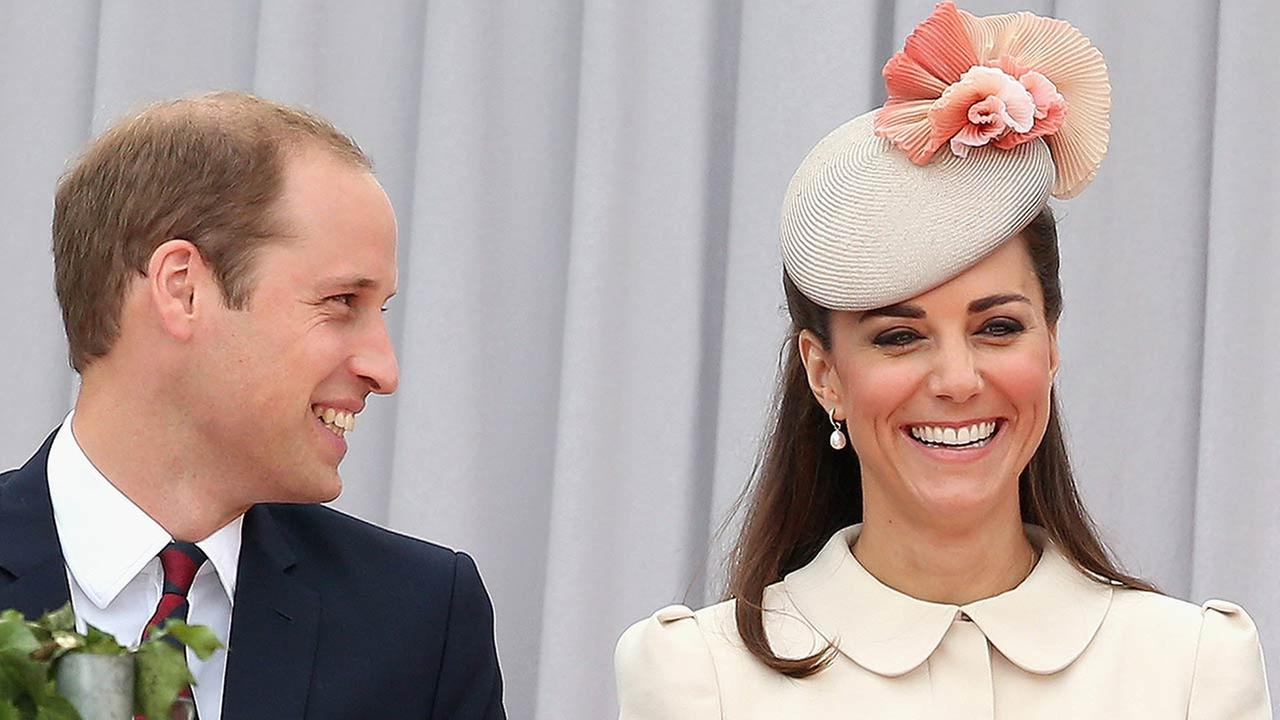 Britains Duke and Duchess of Cambridge, at the Cointe Inter-allied Memorial, Liege, Belgium, commemorating the 100th anniversary of the start of the First World War, Monday Aug. 4
