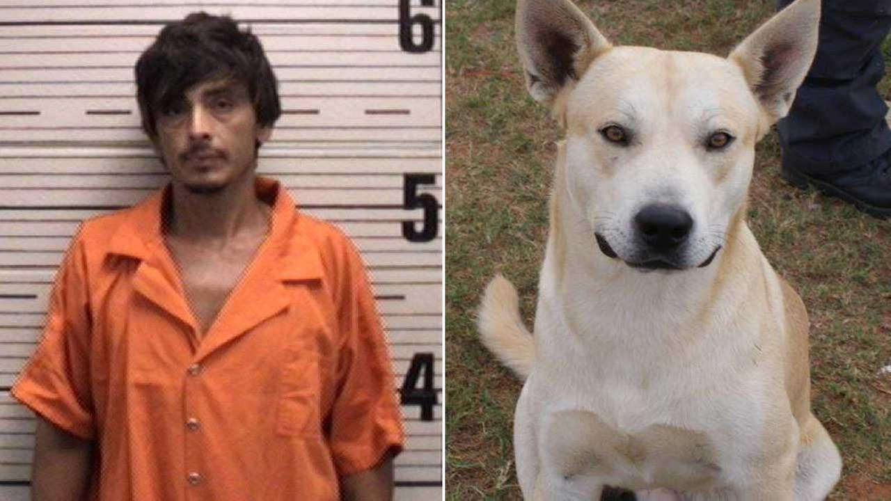 Edward Melvin Henderson was arrested on drug charges, thanks in part to his dog, Bo.