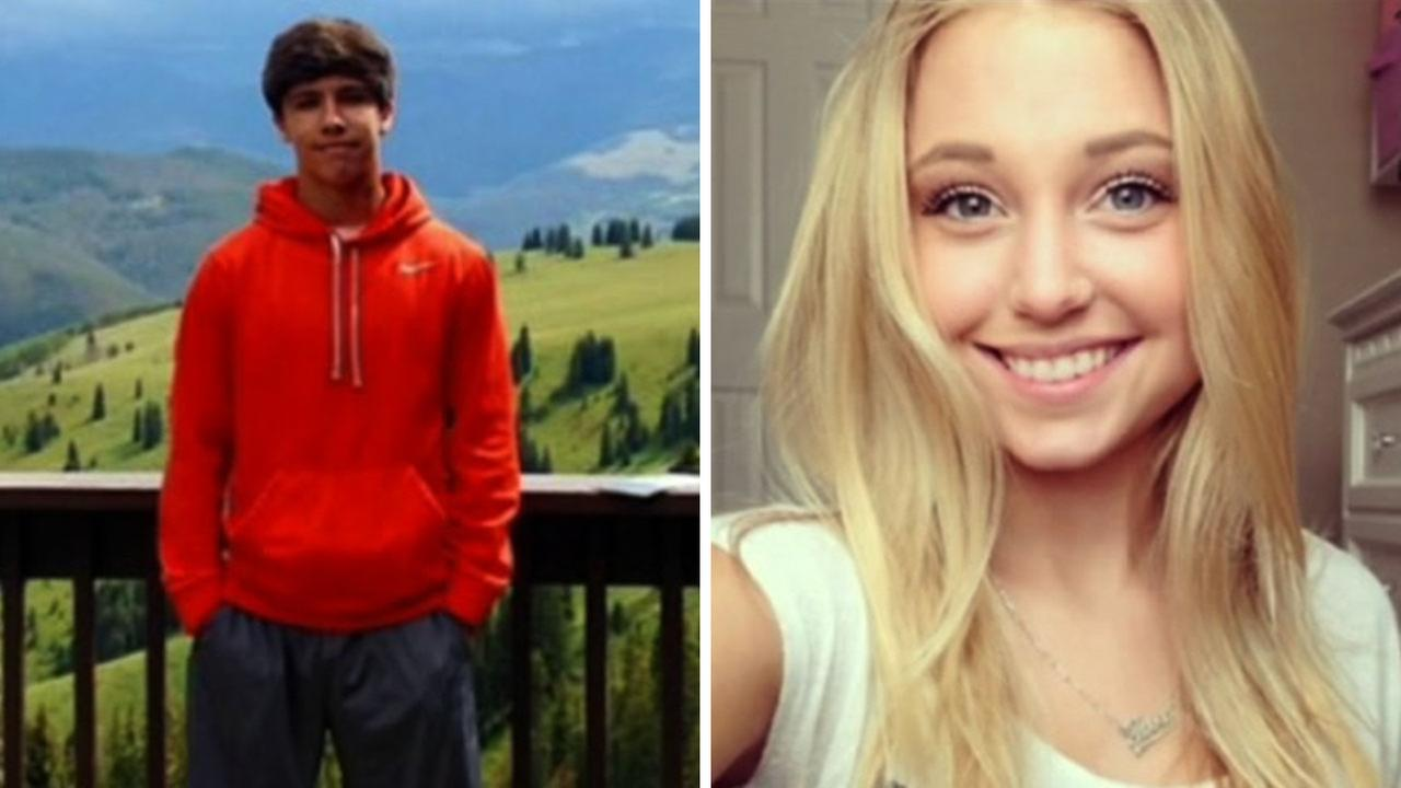 Trent Weber, 17, was a football player at Seven Lakes High School. Terra Kubala, 16, was a well-known sophomore at Cinco Ranch High School