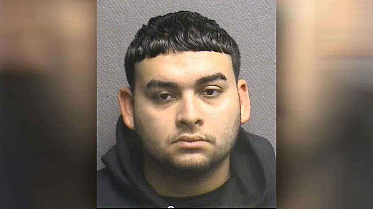 Eddie M. Herrera, 18, reportedly told police the couple had been drinking before falling asleep in the room.  Were told that on Wednesday, he admitted to choking Gomez.