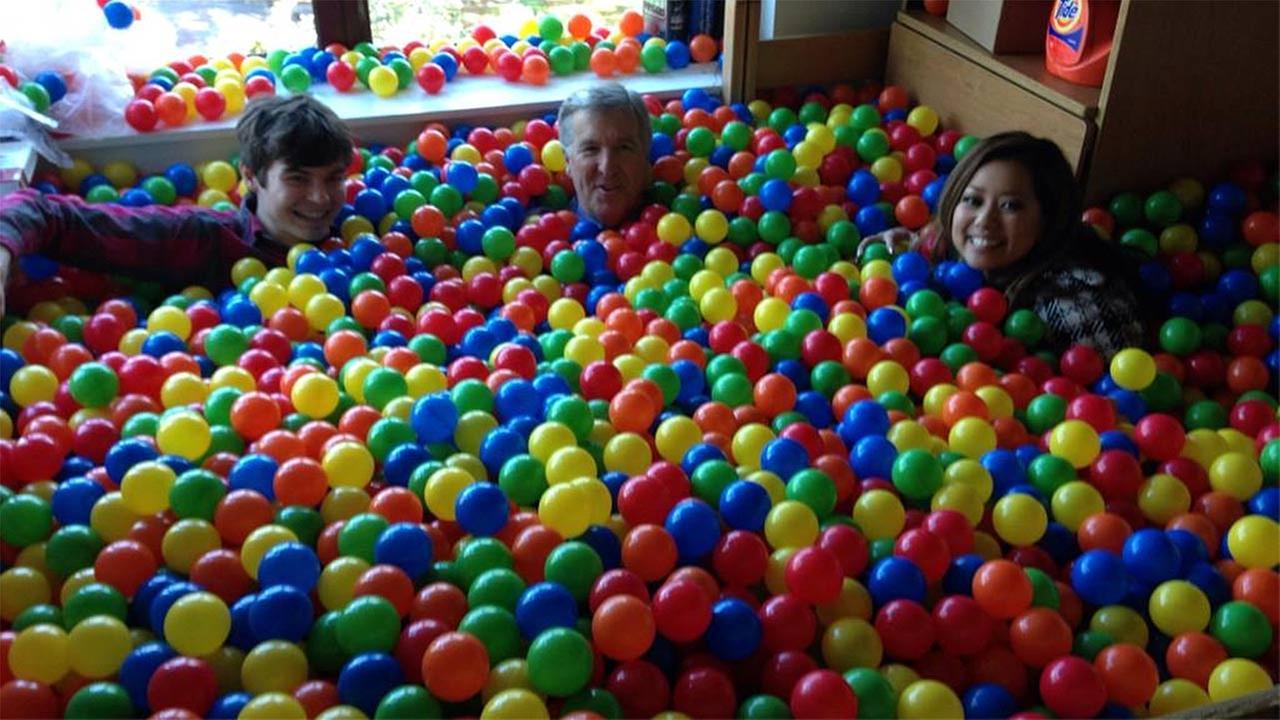 College Senior Turns Rice University Dorm Room Into Ball