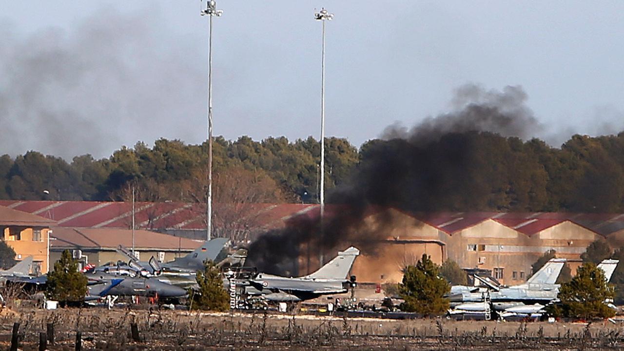 Spain jet crash