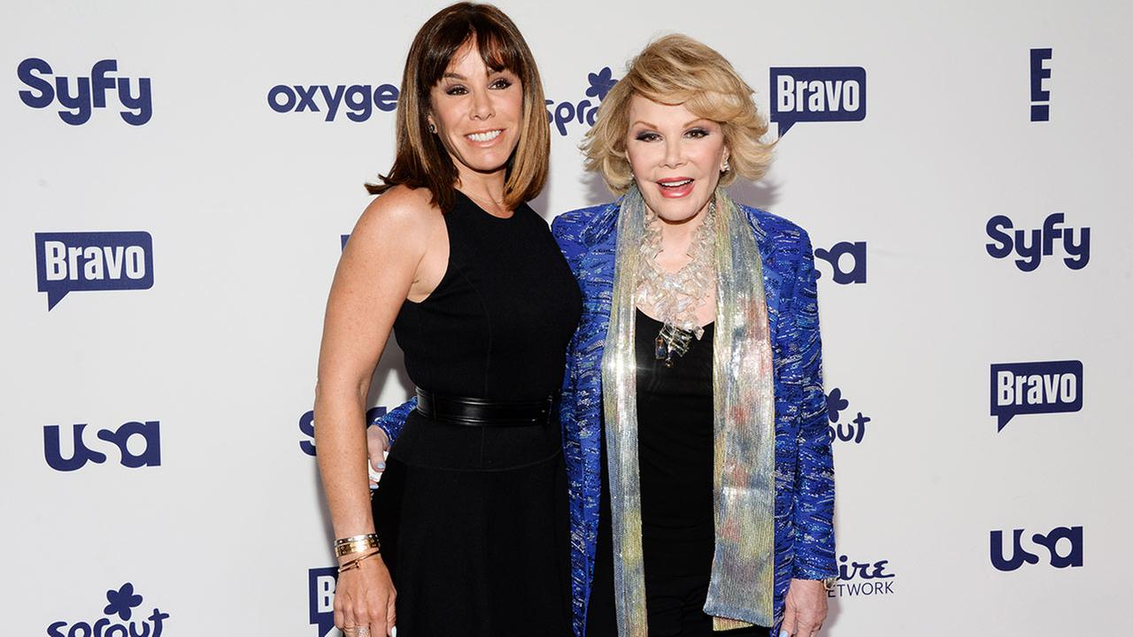 Melissa Rivers, left, and Joan Rivers
