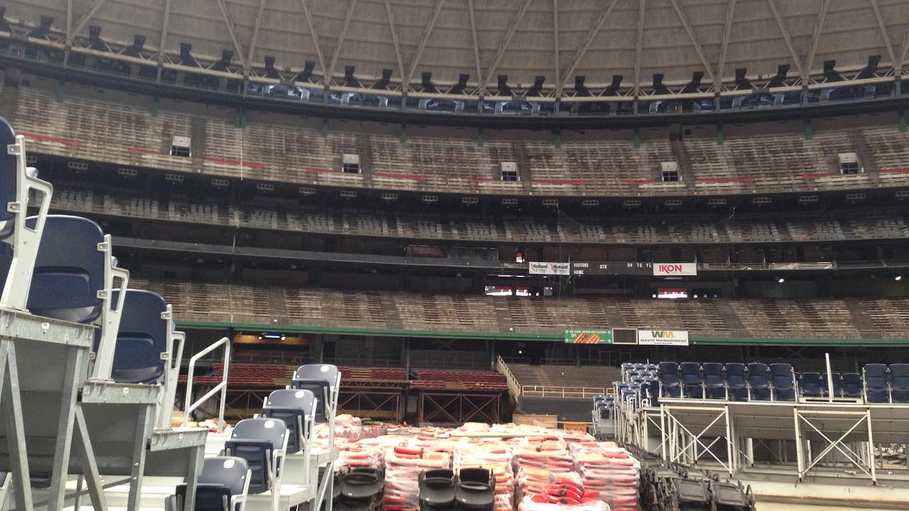 tour the latest condition of the houston astrodome abc13com