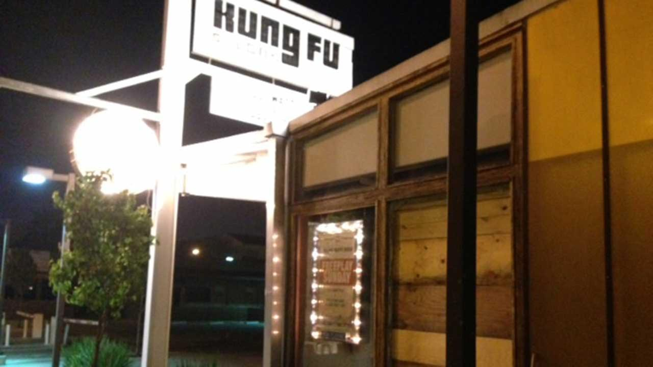 Shots were fired at the King Fu bar on Washington Avenue overnight.  No one was hurt, but patrons were shaken up.