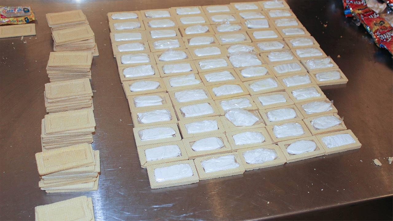CBP officers intercepted cocaine in food products at George Bush Intercontinental Airport