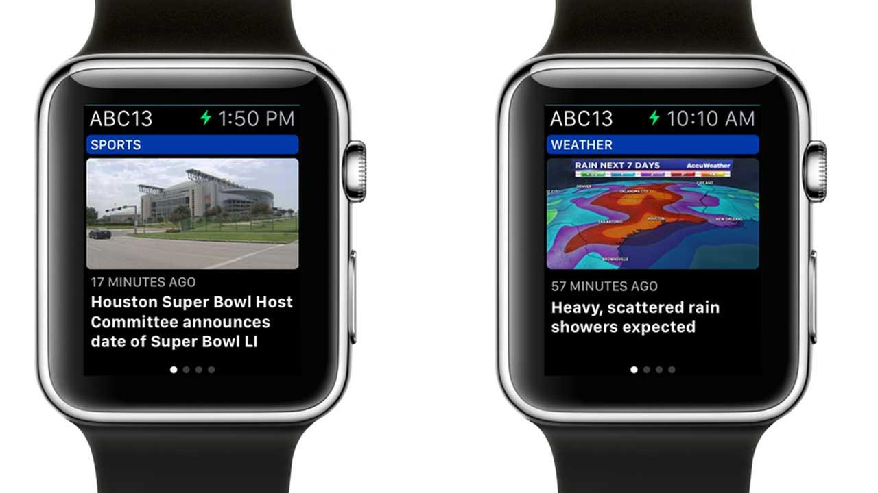 ABC-13 Eyewitness News Apple Watch app