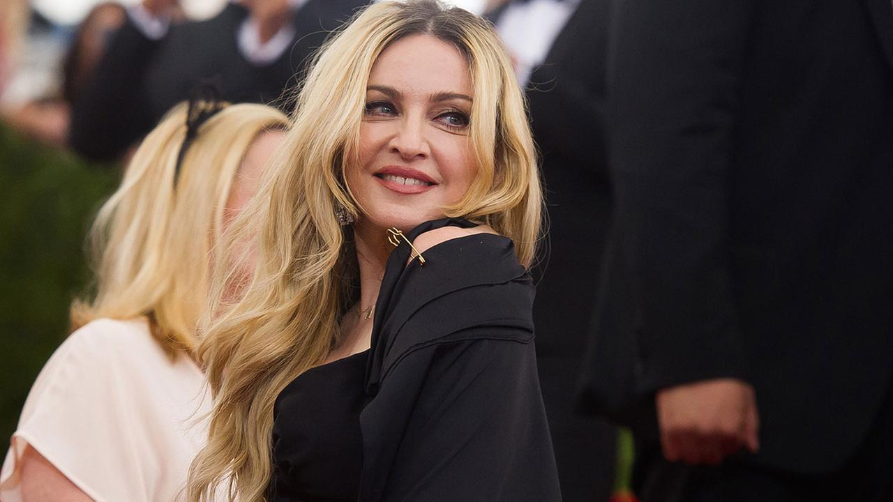 Singer MadonnaAP file photo