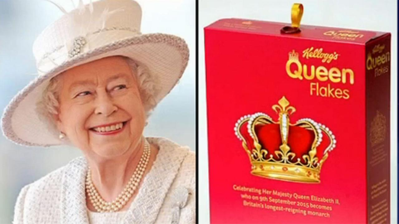 Kellogg's makes cereal to commemorate Queen Elizabeth's reign
