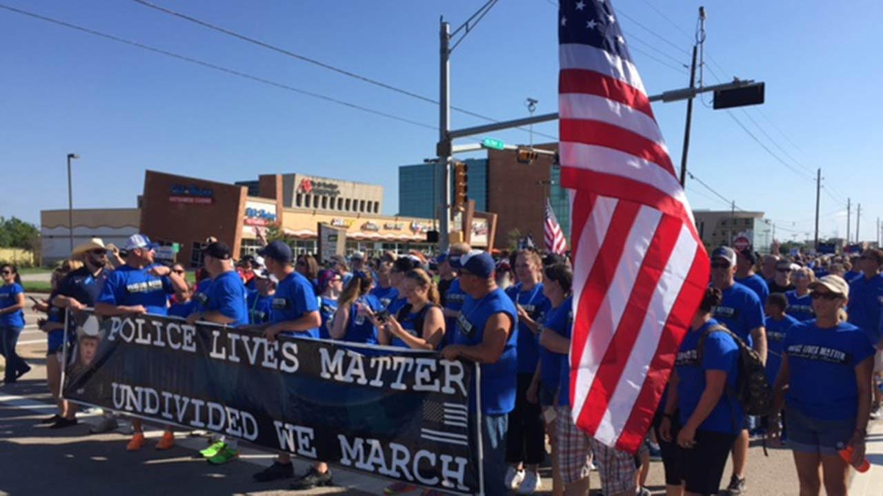 PHOTOS: Community march in honor Deputy Goforth and law ...