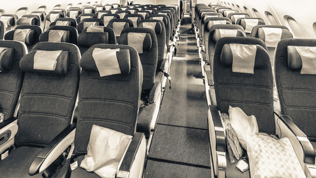 Microbiologists Find Dirtiest Things On An Airplane And In