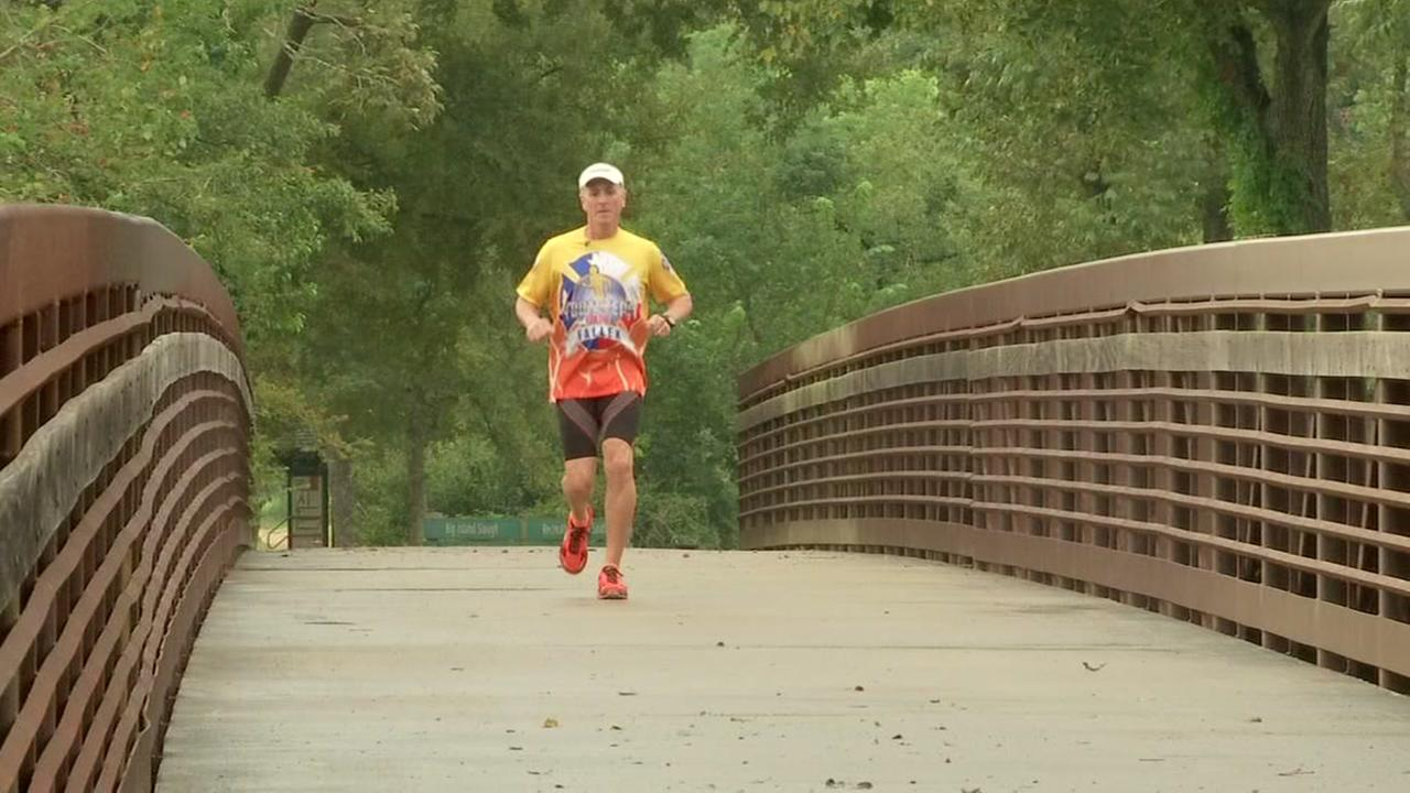 Firefighter embarks on 420-mile run
