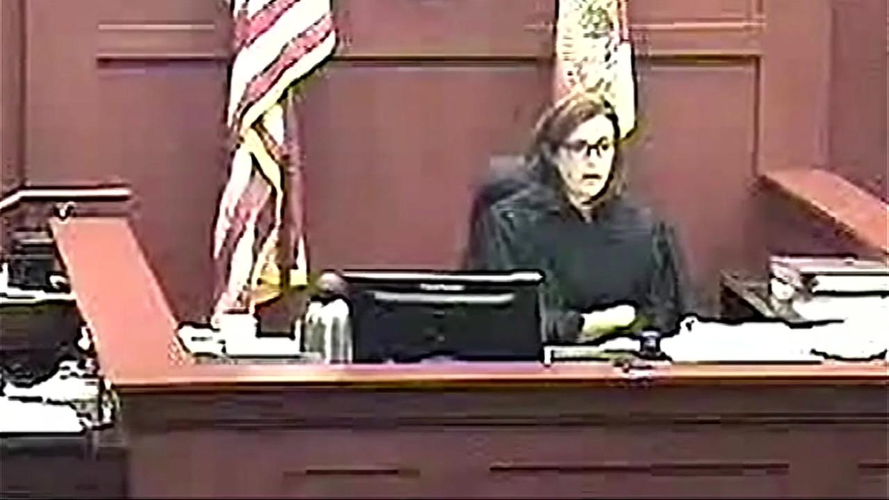 Watch: Florida judge berates and sentences victim of domestic violence