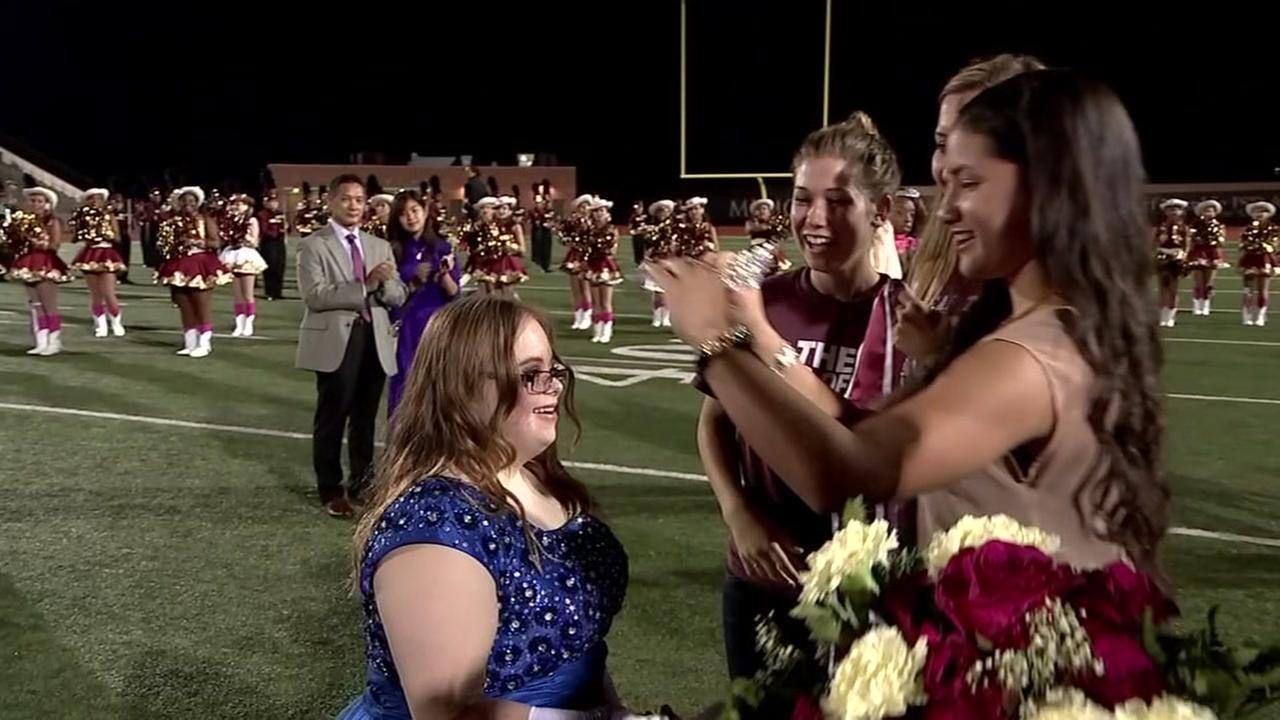Special needs teen voted homecoming queen