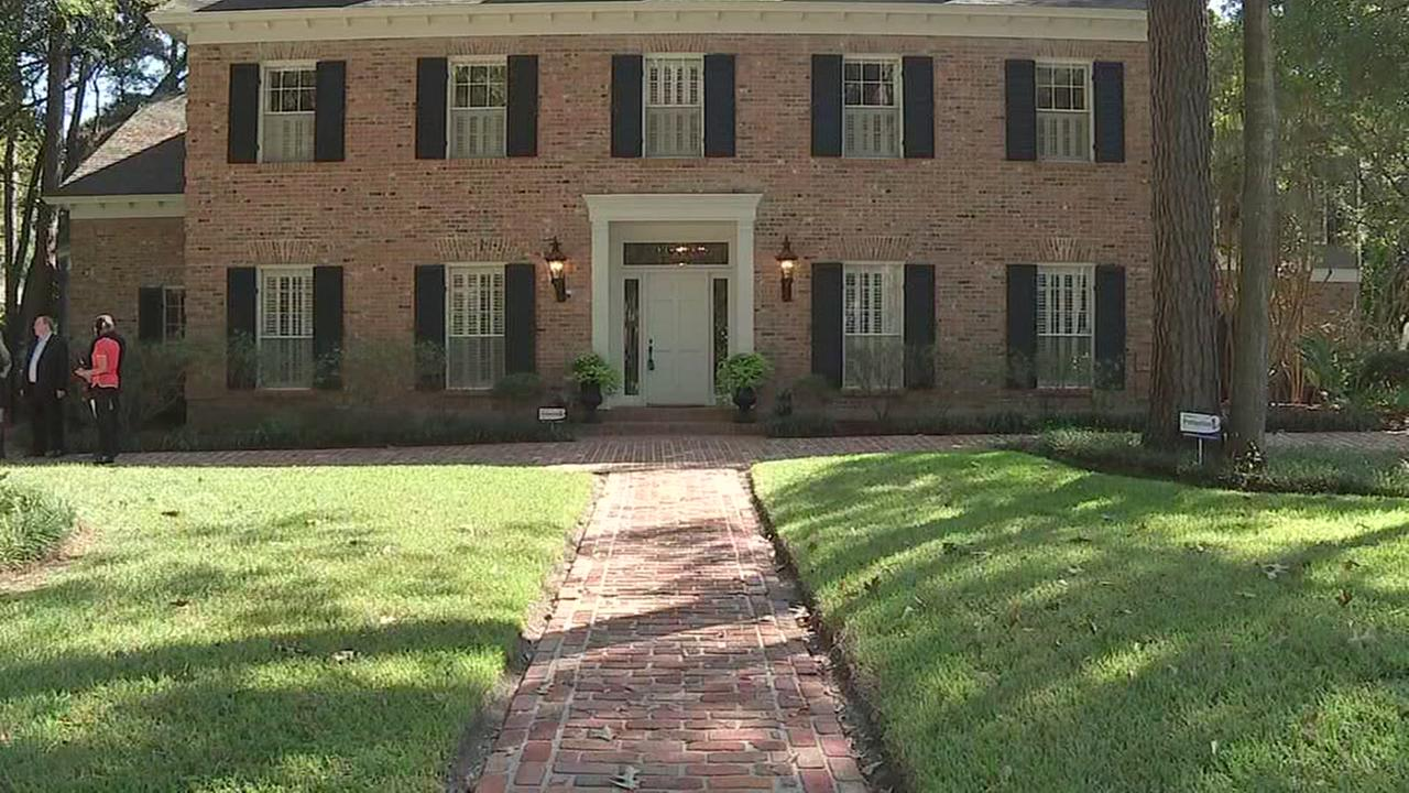 Ken Lays former home on sale