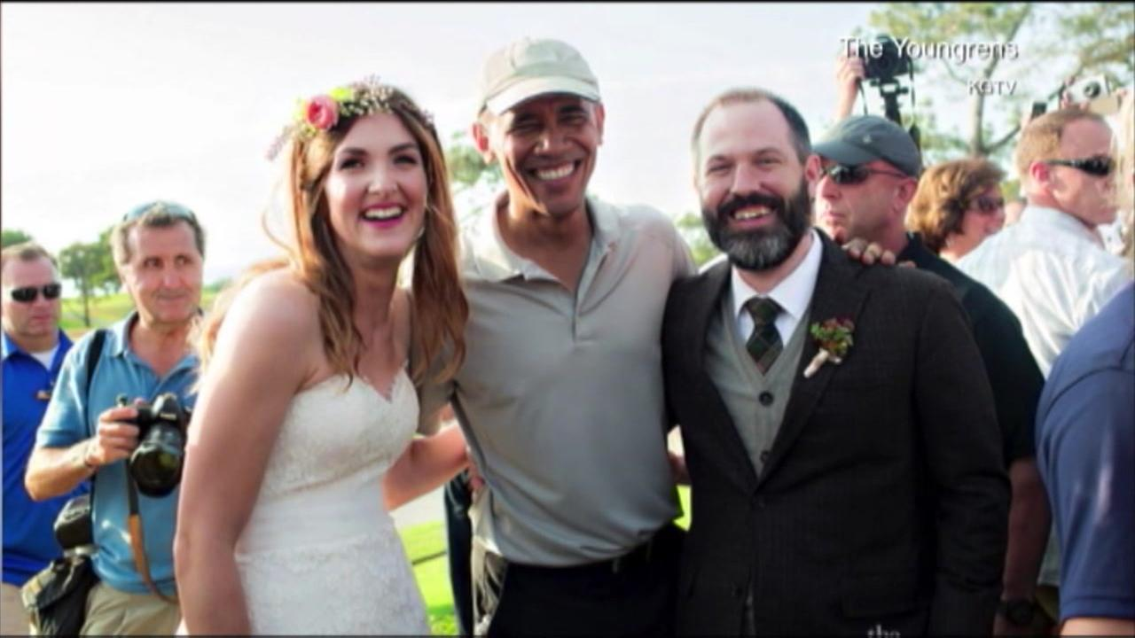 President Obama crashes San Diego wedding to the delight of bride, groom